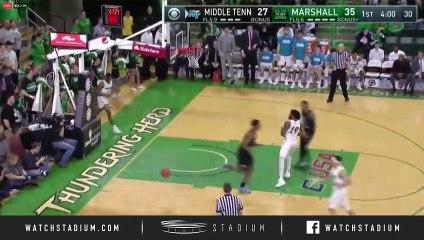 Middle Tennessee vs. Marshall Basketball Highlights (2018-19)