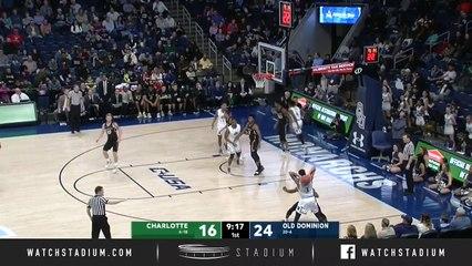 Charlotte vs. Old Dominion Basketball Highlights (2018-19)