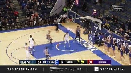Utah State vs. Air Force Basketball Highlights (2018-19)