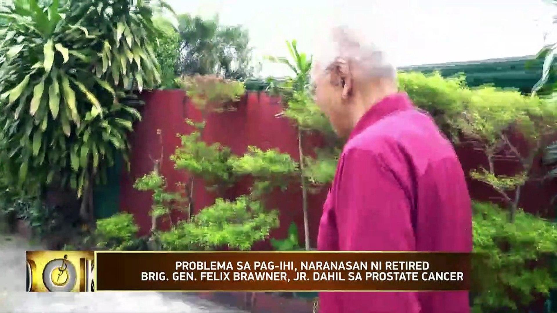 Salamat Dok: Story of Ret  BGen  Felix Brawner Jr  and his prostate cancer