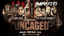 "Team AAA (Psycho Clown, Puma King, Hijo del Vikingo, Aerostar) vs. Team Impact (Sami Callihan, Eddie Edwards, Eli Drake, Fallah Bahh) Impact Wrestling ""Uncaged"