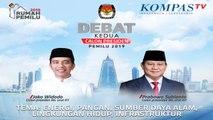 LIVE Debat Kedua Capres Pemilu 2019 -- Jokowi vs Prabowo --