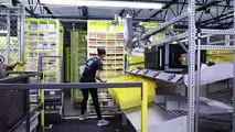 """Les robots """"collaboratifs"""" d'Amazon, avant-goût du futur"""