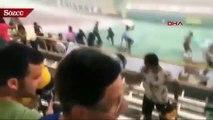 Brezilya'da stadyumu su bastı