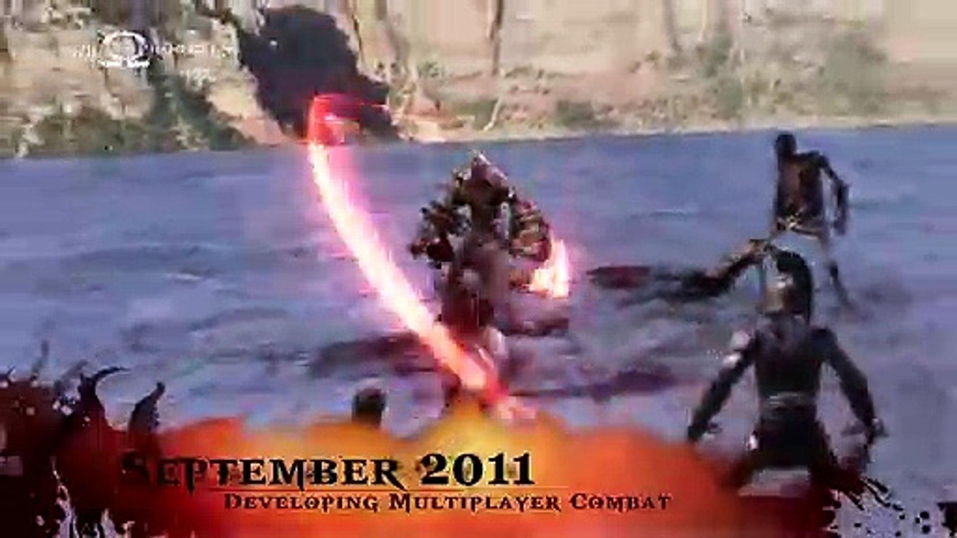 God of War: Ascension - 'The Art of Online War'