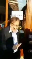 Alain Finkielkraut insulté de facho à une manisfestation