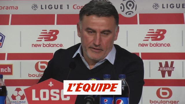 Galtier «J'ai vu Mourinho avant le match» - Foot - L1 - Losc
