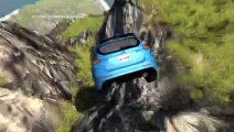 BeamNG Drive - Battle of the Rally Cars - CRASHES - Forest