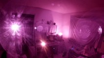 Lunar Paranormal Virginia Pt. 1 Serious Spirit Box Contact in the Computer Room Extreme Haunted Residence by Cemetery # 3