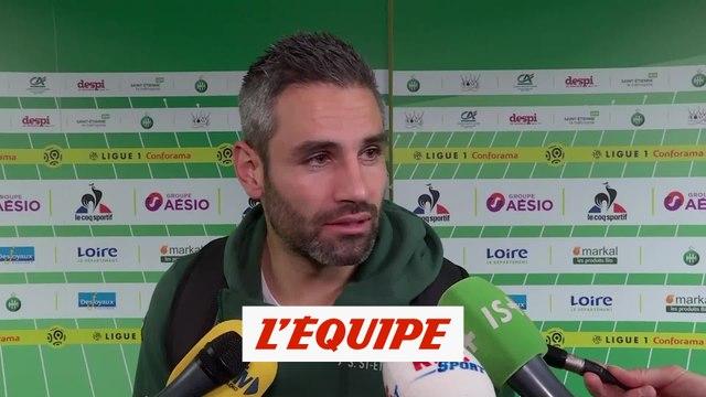 Perrin «On leur a tenu tête» - Foot - L1 - Saint-Etienne