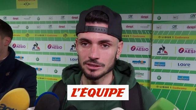 Cabella «Frustré, déçu...» - Foot - L1 - Saint-Etienne