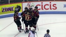 ECHL Atlanta Gladiators 4 at South Carolina Stingrays 2