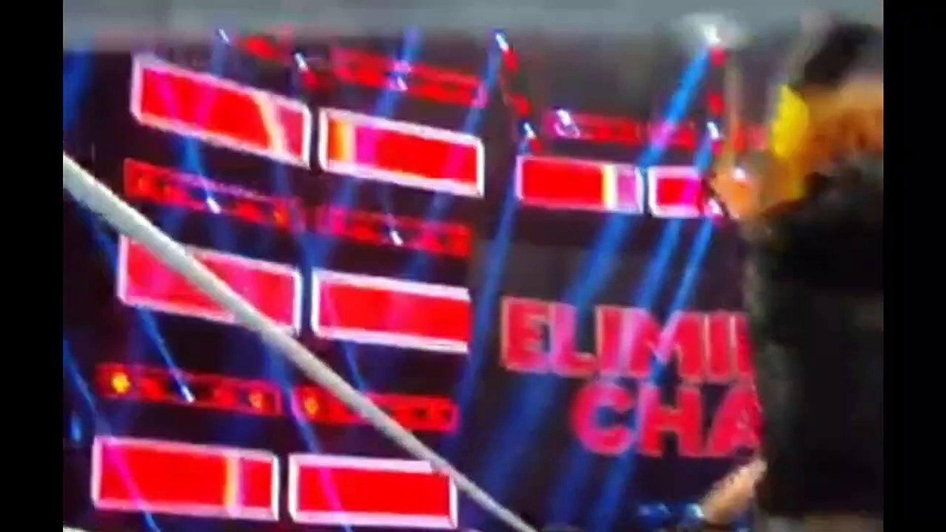 Becky Lynch Brutally Assaults Ronda & Charlotte - WWE Elimination Chamber 2019 Highlights