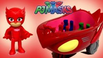 PJ Masks Owlette Owl Glider Vehicle - Unboxing Demo Review Keith's Toy Box