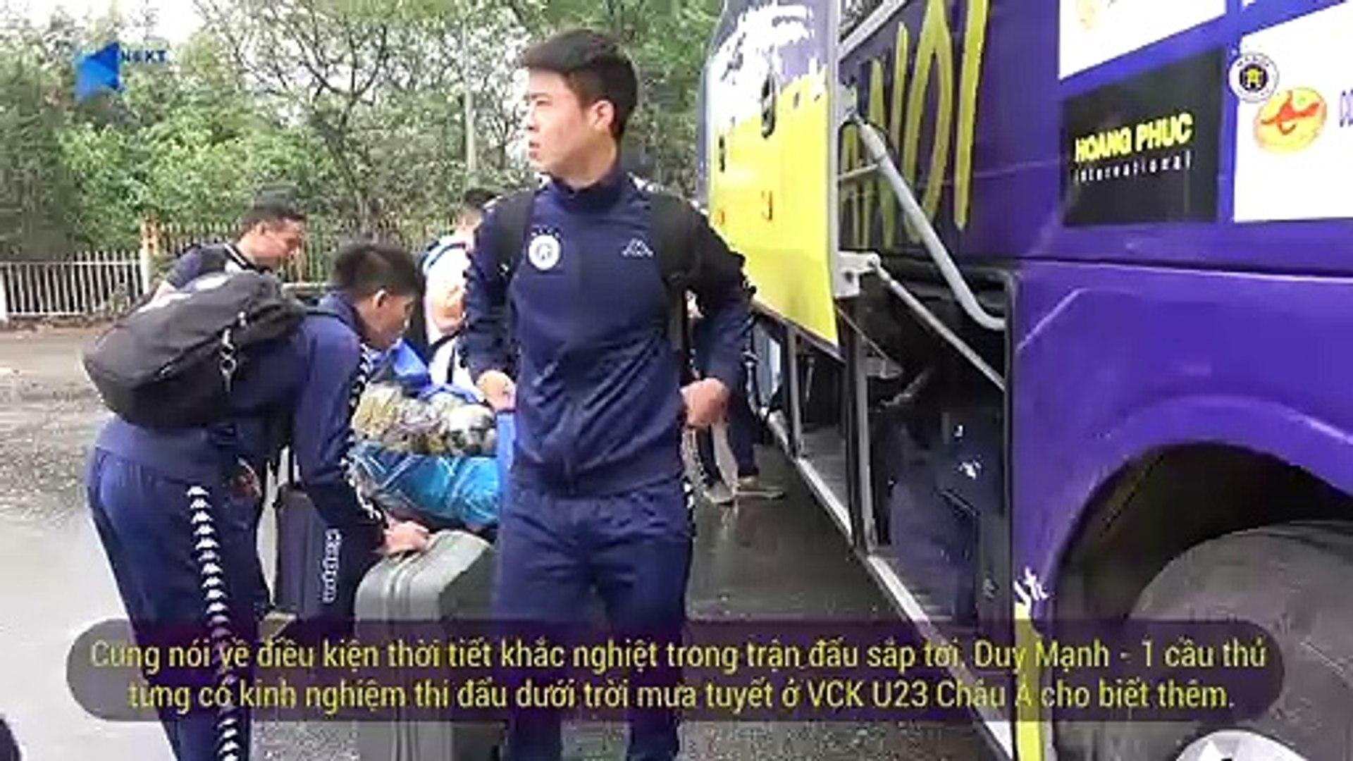 CLB Hà Nội di chuyển sang Trung Quốc, sẵn sàng cho trận đấu với Sơn Đông Lỗ Năng | HANOI FC