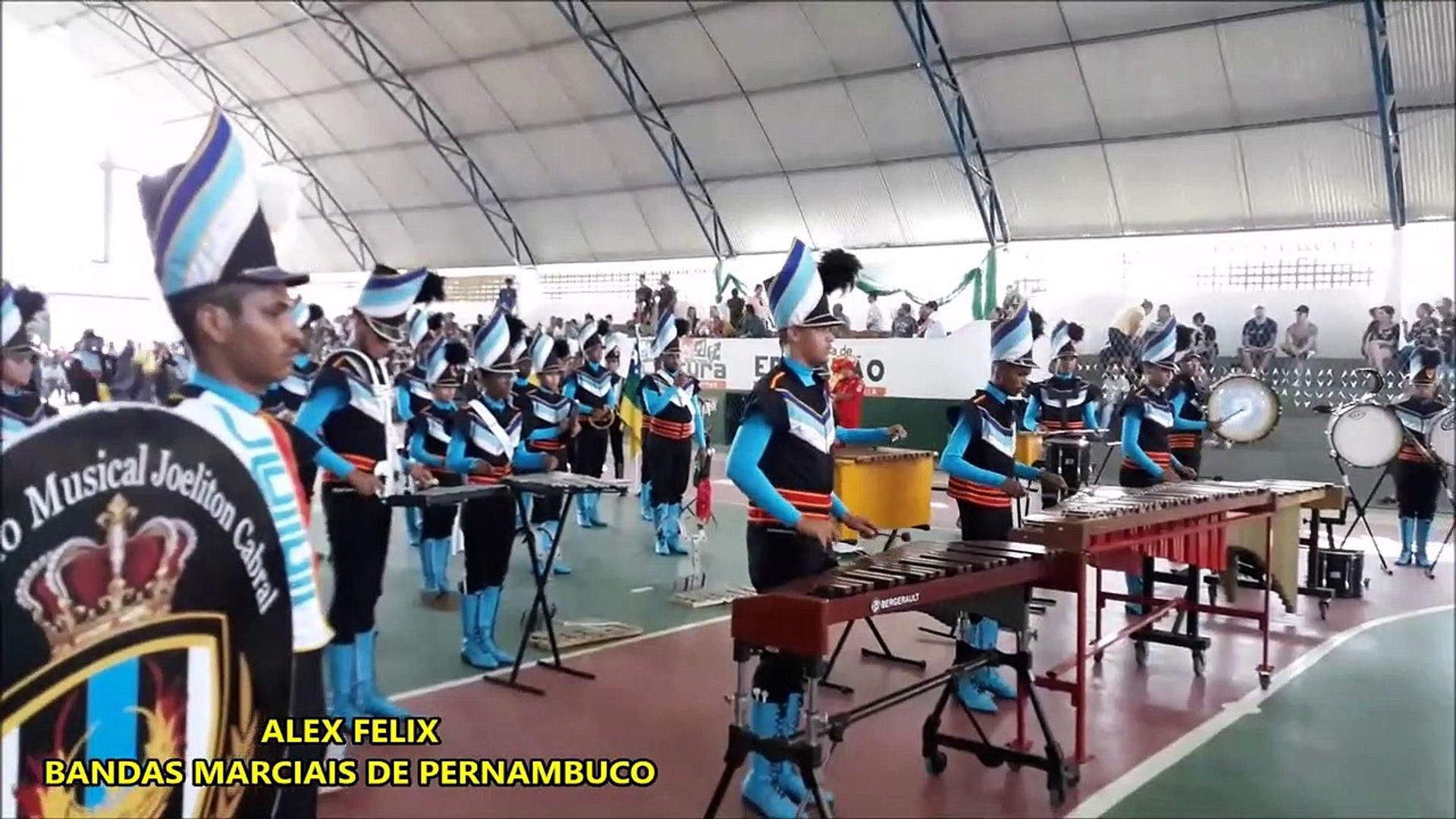 Banda de Percussão Melódica Joeliton Cabral 2018 - XI COPA NORDESTE NORTE DE BANDAS E FANFARRAS