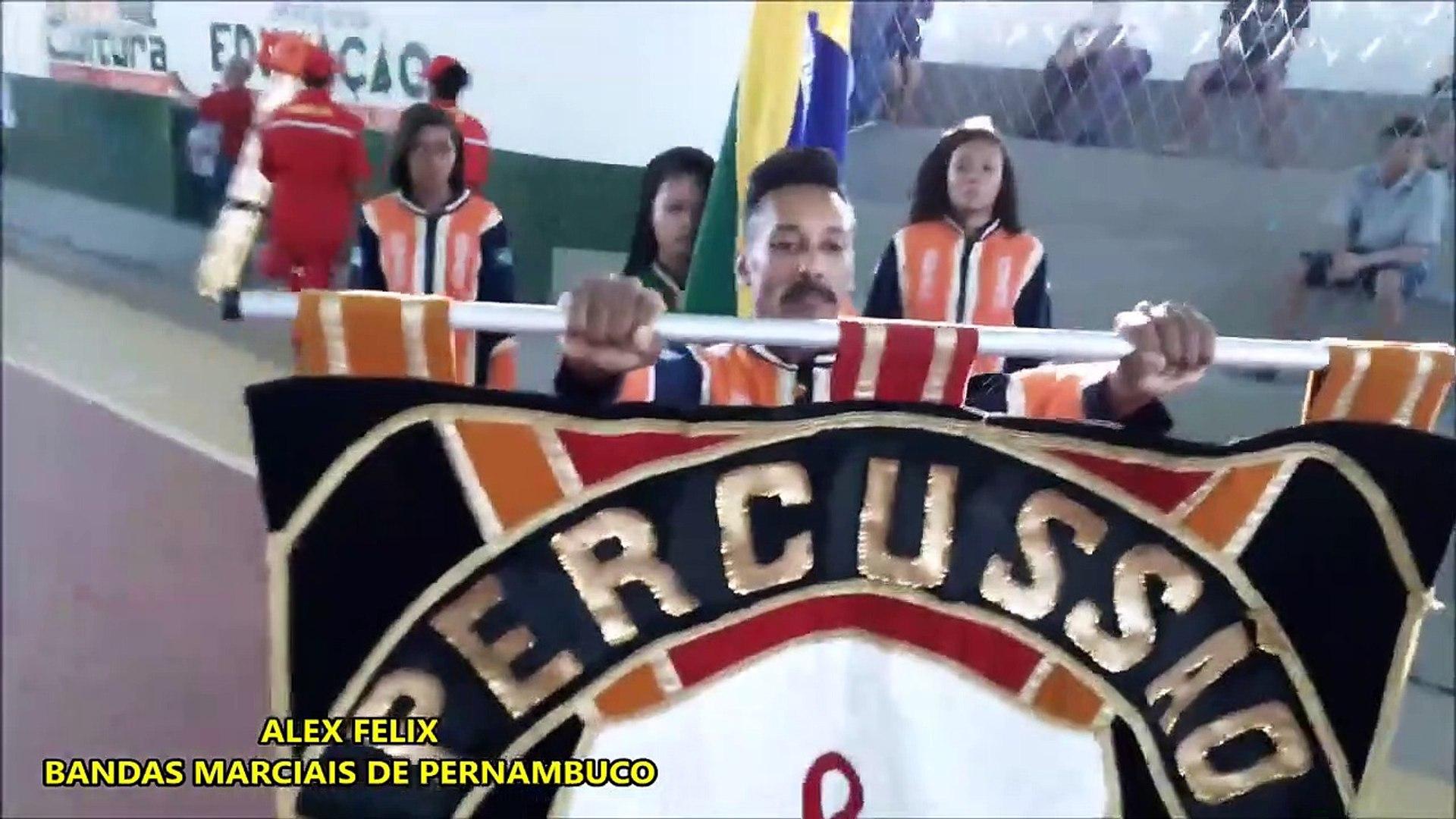 BANDA DE PERCUSSÃO TOME GIBSON 2018 - XI COPA NORDESTE NORTE DE BANDAS E FANFARRAS EM ALTINHO - PE