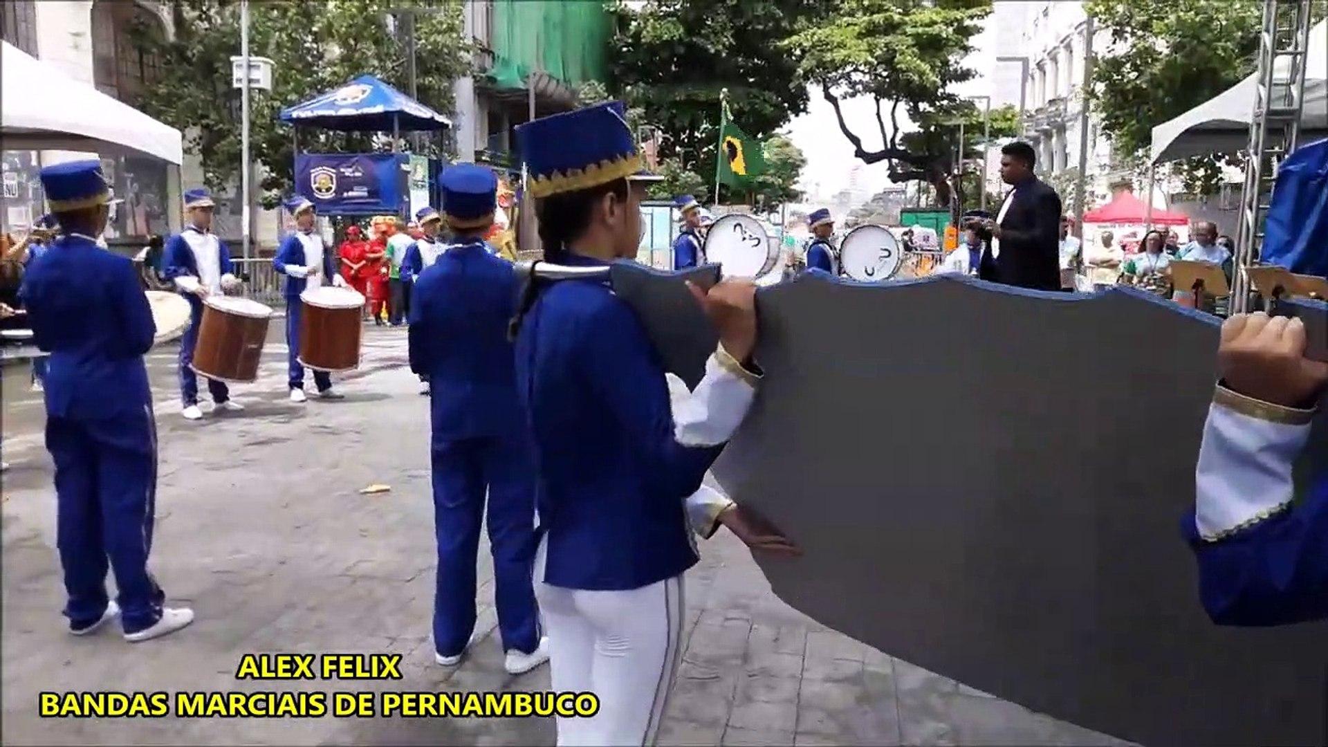 CNBF - 2018 _ Banda de Percussão Gricon e Silva - CAMPEONATO NACIONAL DE BANDAS E FANFARRAS - RECIFE