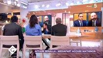 """Affaire Benalla : Echange tendu entre Edwy Plenel et Patrick Cohen sur l'origine des enregistrements de """"Mediapart"""""""