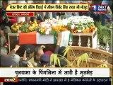 मेजर बिष्ट की अंतिम विदाई में उमड़ा जन सैलाब, CM त्रिवेंद्र रहे मौजूद