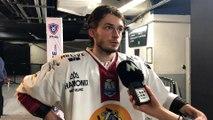 Maxence Leroux fait le bilan de la 1/2 finale de coupe de France de hockey sur glace