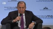 Глава МИД РФ Сергей Лавров обрушился с критикой на Запад на Мюнхенской конференции по безопасности