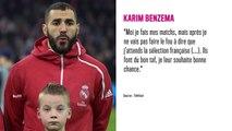 Karim Benzema de retour en équipe de France ? Sa mise au point révélée