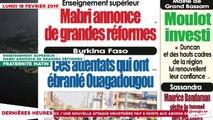 """Le Titrologue du 18 Février 2019 : Georges Armand Ouégnin, """"Oui 2020 c'est bouclé, c'est fermé mais qui a la clé ? """""""