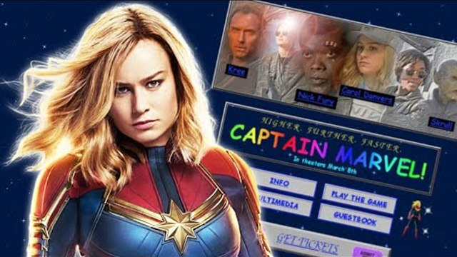 Captain Marvel Website: 12 Secrets, References & Easter Eggs EXPLAINED