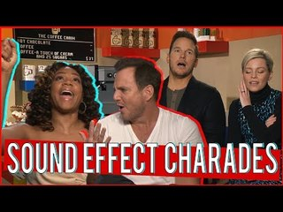 Sound Effect Charades  with the cast of The Lego Movie 2