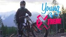 Jeune et extrême : le cycliste des montagnes