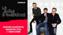 La Boîte à Questions de Mathieu Kassovitz, François Civil et Reda Kateb – 18/02/2019