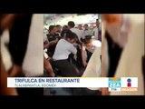Pleito en restaurante de mariscos en Tlalnepantla | Noticias con Francisco Zea