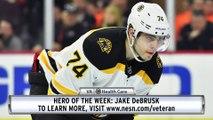 VA Hero Of The Week: Jake DeBrusk Scores In Three-Straight Games