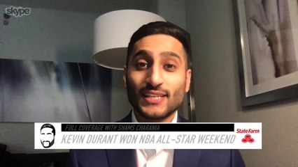 Shams Charania Explains Why Kevin Durant Won All-Star Weekend