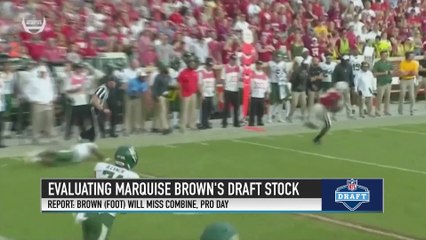Where Does WR Marquise Brown Project in the NFL Draft?