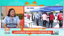 ON THE SPOT: 1st nationwide simultaneous earthquake drill