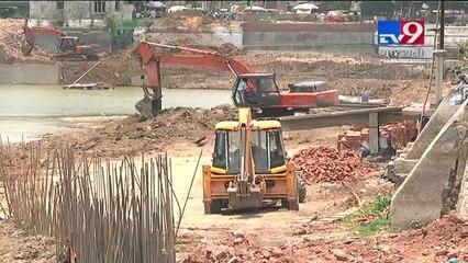 Opposition smells corruption in Sursagar lake renovation work, Vadodara