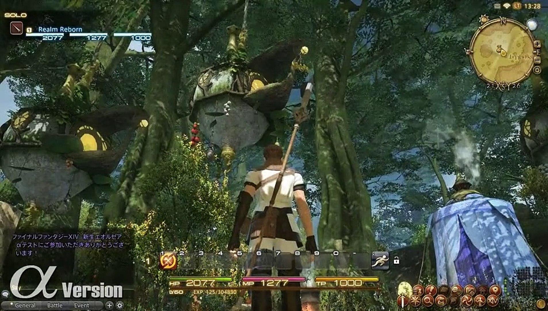 Final Fantasy XIV - Bosques de Gridania (2)