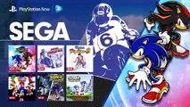 Sega & Sonic Mes en PlayStation Now
