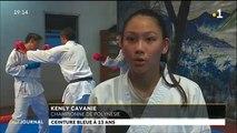 Karaté : Kenly Cavanie, graine de championne