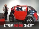 A bord du concept Citroën Ami One (2019)