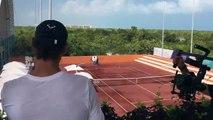 Tennis -  Rafael Nadal y Carlos Moya siguen haciendo las delicias de los aficionados en el Rafa Nadal Tennis Centre