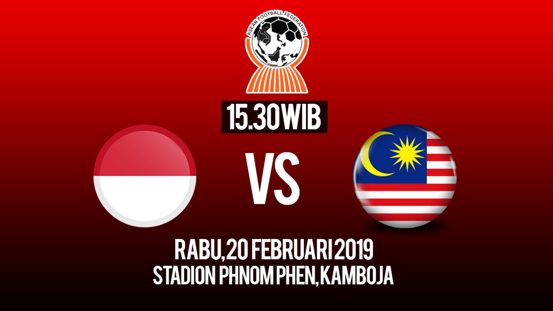 Jadwal Live Piala AFF U-22, Indonesia U-22 Vs Malaysia U-22, Rabu Pukul 15.30 WIB
