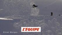 Festival de tricks au Snowpark de Val d'Isère - Adrénaline - Snowboard