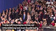 Venezuela: Trump ruft Armee zur Unterstützung von Guaidó auf