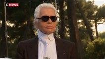 Le créateur de mode Karl Lagerfeld est mort
