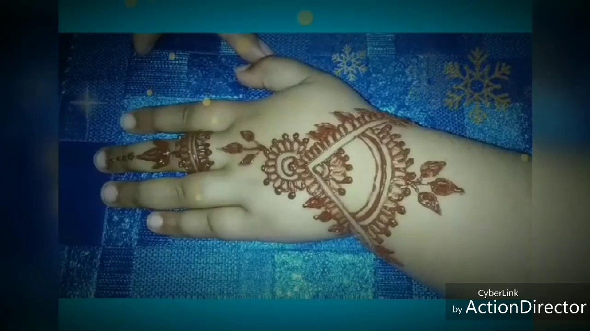 mehndi design baby hand