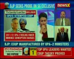 Fake Coup Scandal BJP takes up the Sunday Guardian story; questions Congress on 'coup plot'