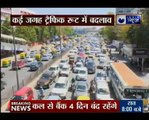 Road caves in near ITO, leads to massive traffic snarls in Central Delhi